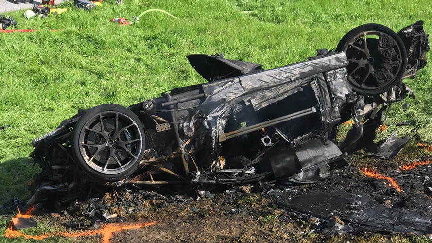 Richard Hammond's Crashed Rimac Concept One Supercar