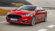 Ford Mondeo ST render