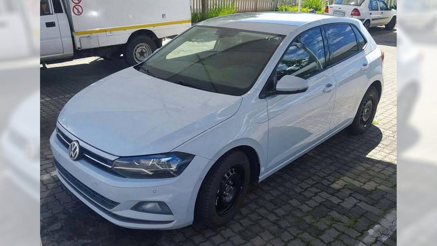 6th generation Volkswagen Polo is photographed in South Africa