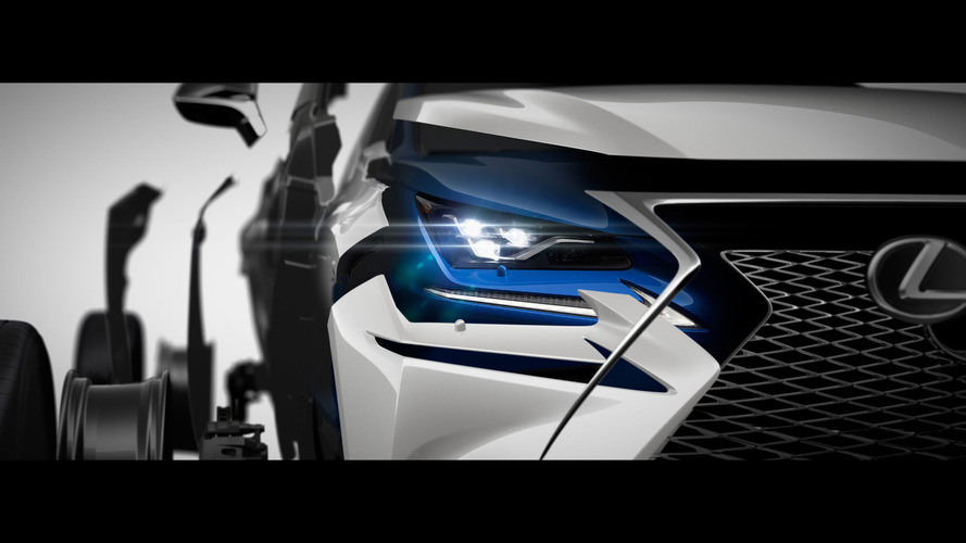 Lexus NX Facelift Teased Ahead Of Shanghai Debut
