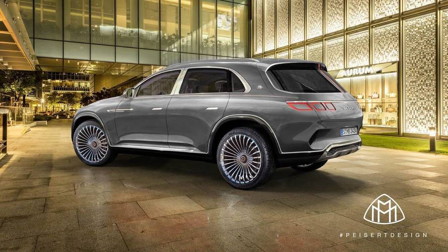 Maybach Vision Ultimate Luxury Rendered As A Proper SUV