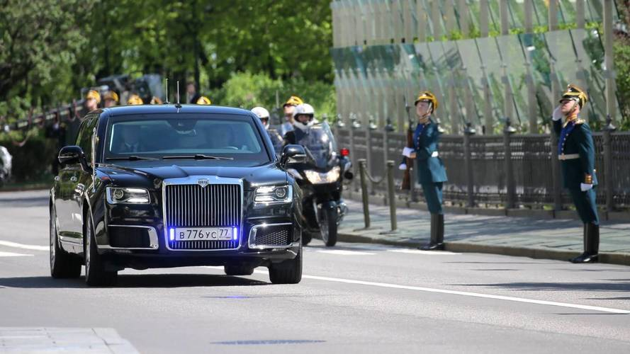 Vladimir Putin's New Limo Reveal