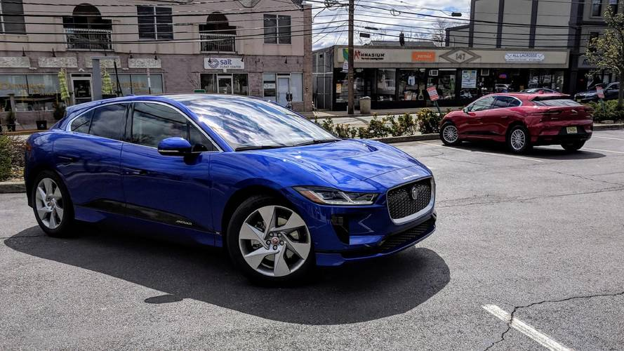 Jaguar I-Pace Caught On The Move In U.S.
