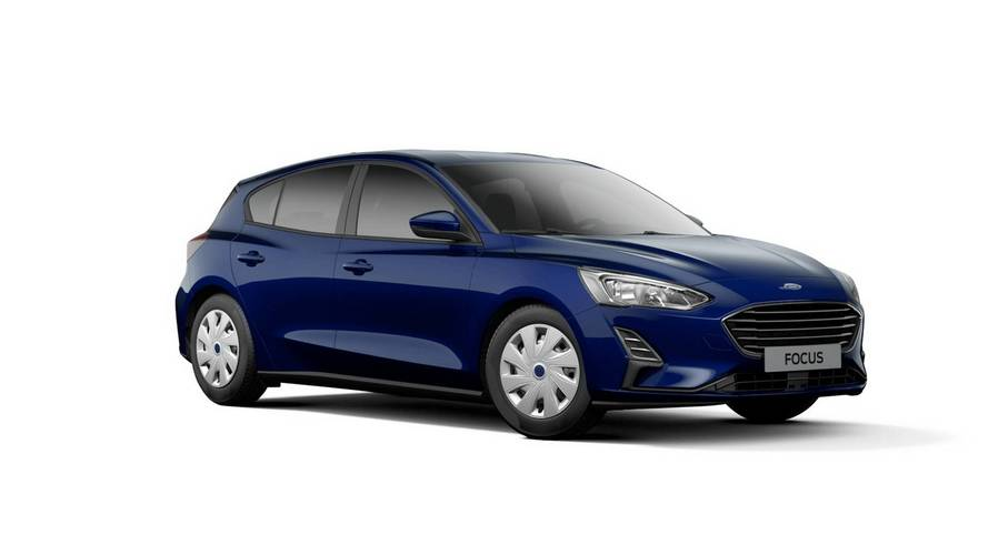 Cheapest 2019 Ford Focus Still Looks Good With Hubcaps, Tiny Screen