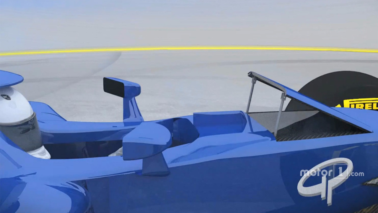 Actuated flap rendering