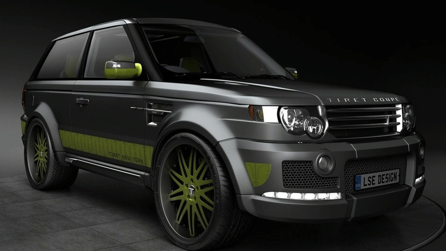 Tiret Coupe based on LSE Design Range Rover Sport Coupe