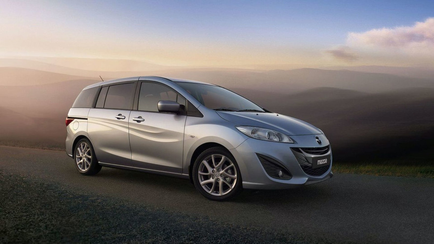 All-New 2011 Mazda5 Revealed - Public Debut in Geneva