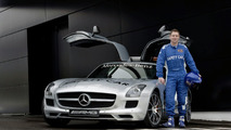 Mercedes-Benz SLS AMG Official F1 Safety Car with Bernd Maylander 26.02.2010