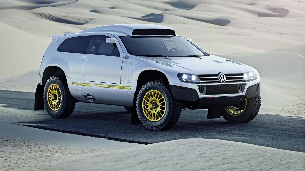 Street legal version Volkswagen Race Touareg 3 concept, 26.01.2011