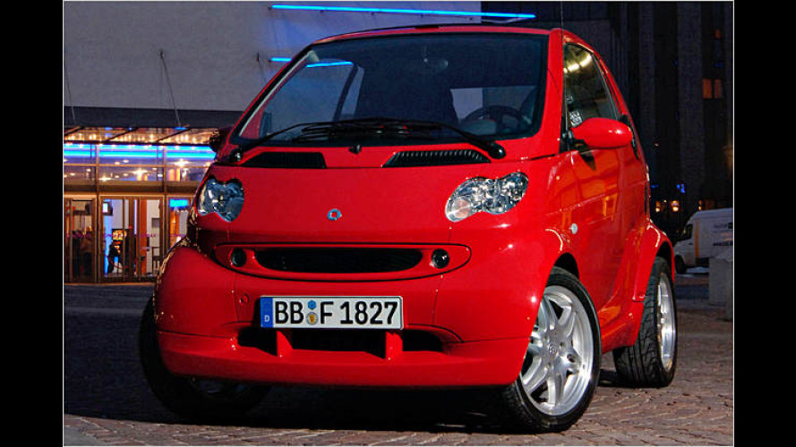 Smart Fortwo: Galanter Abschied als Edition Red