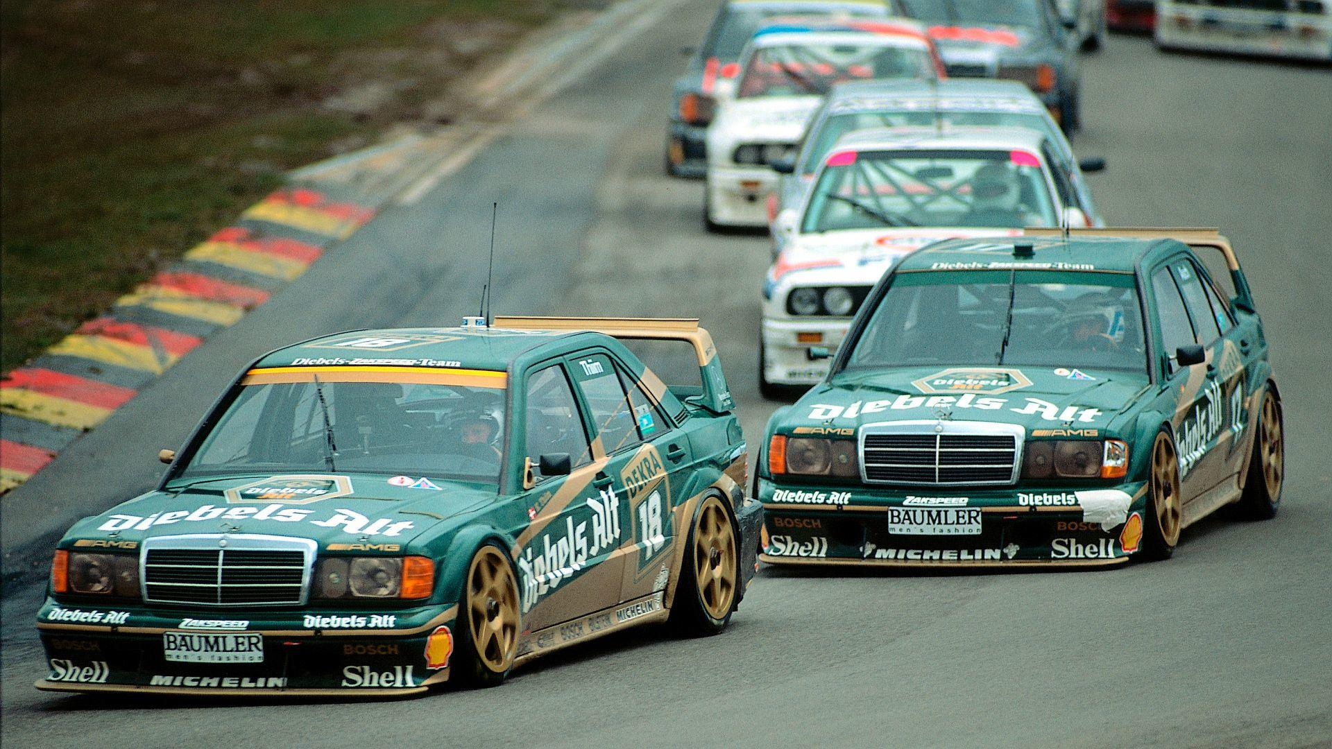 Mercedes revisits 190e evo ii in stunning dtm footage for Ariete evo 2 in 1