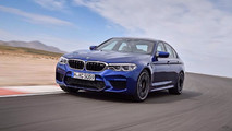 2018 BMW M5 photos en fuite