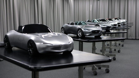 See The ND Mazda MX-5 Go From Sketch To Reality In 117 Photos