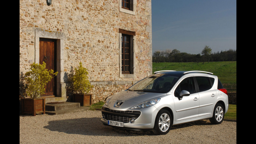 Peugeot 207 SW preview