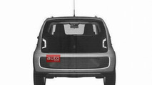 Volkswagen Up! five-door patent photo - 18.1.2012