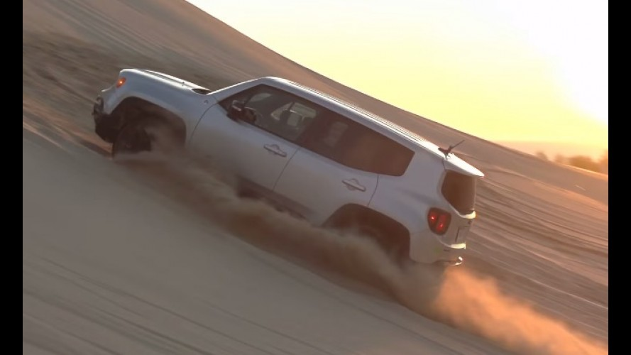 Vídeo: Jeep testa performance off-road do Renegade Trailhawk nas dunas