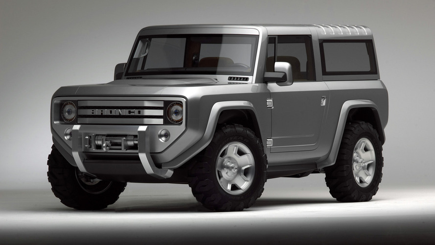 Next-gen Ford Bronco confirmed
