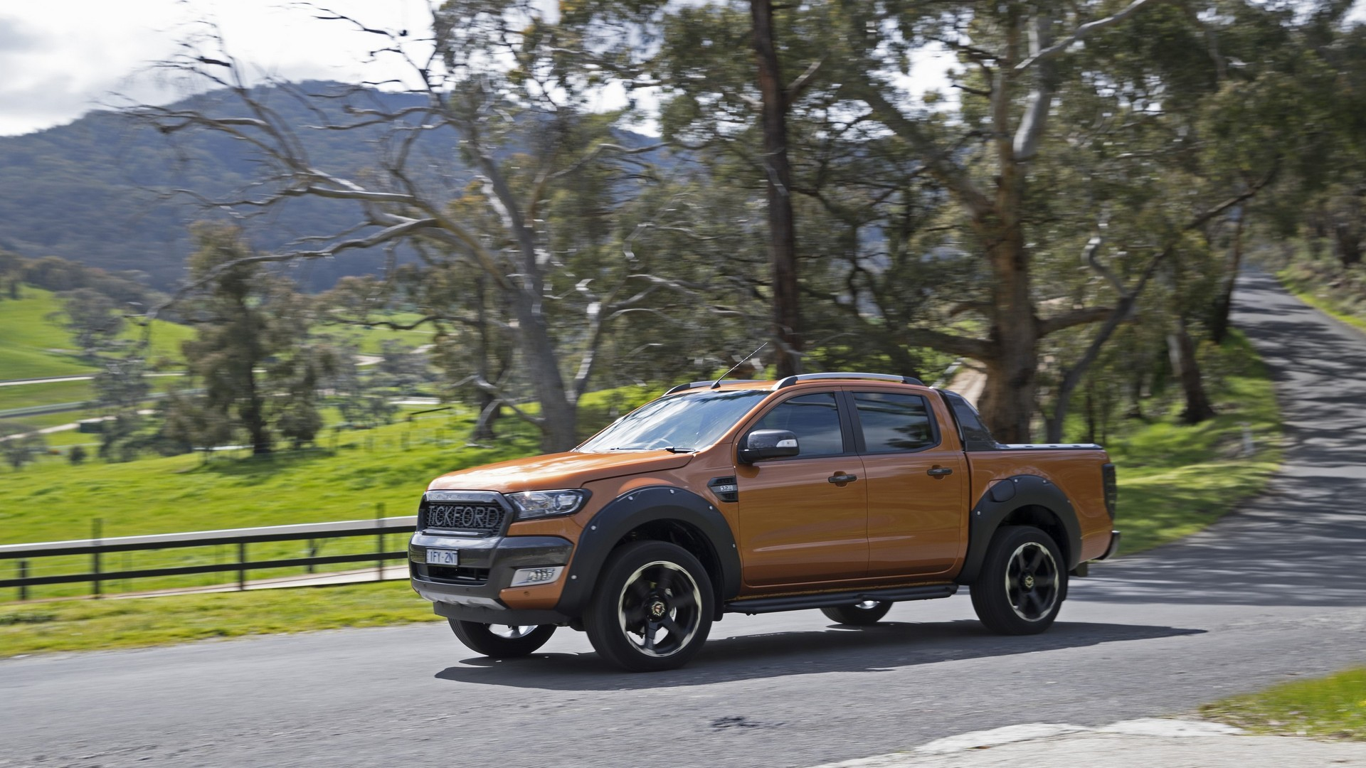 Souvent Tickford makes Australian return with tuned Ford Ranger TQ32