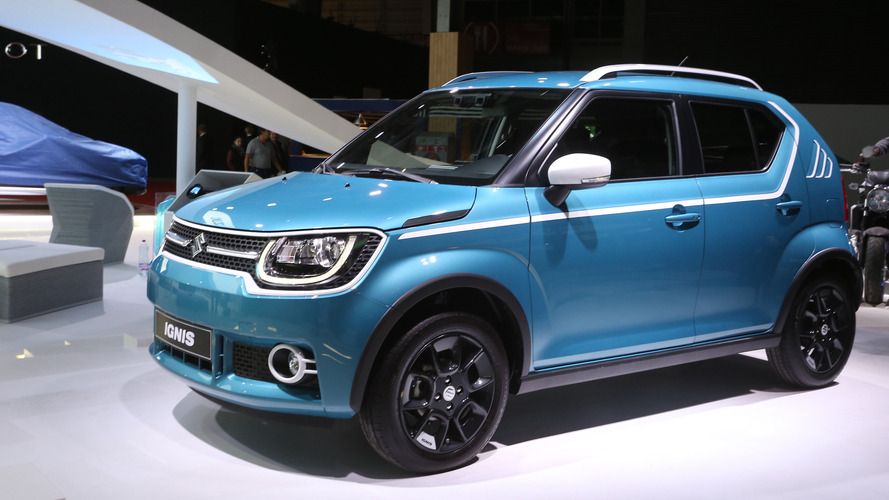 Suzuki Ignis is an adorable little crossover in Paris