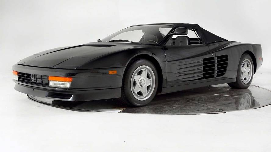 Who's Bad Enough To Buy Michael Jackson's Ferrari Testarossa 'Vert?