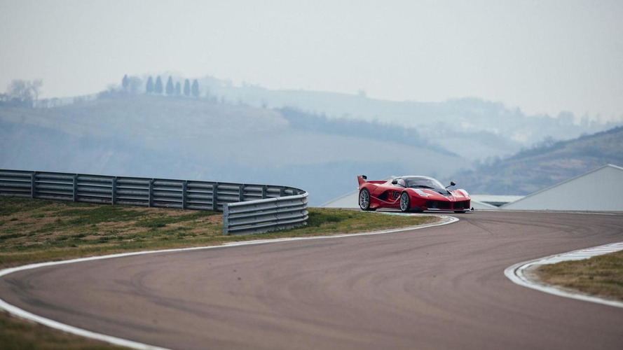 Sebastian Vettel takes the Ferrari FXX K out for a spin at Fiorano [video]