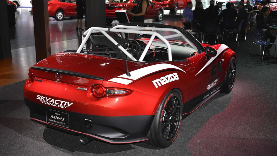 Mazda MX-5 shows its racing ambitions in Los Angeles