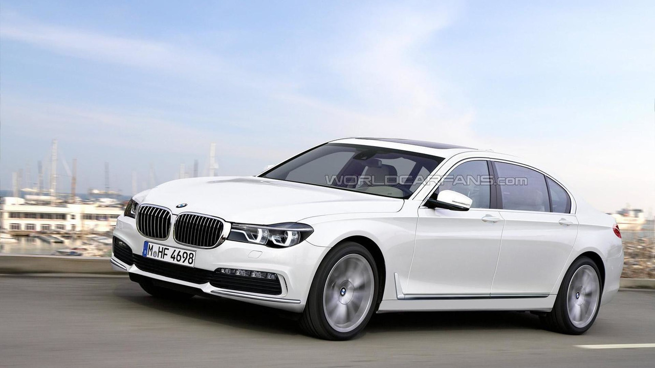 2016 BMW 7-Series render