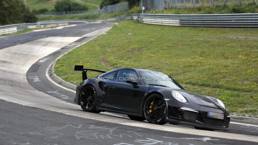 Porsche 911 GT3 RS spied tackling the Nurburgring