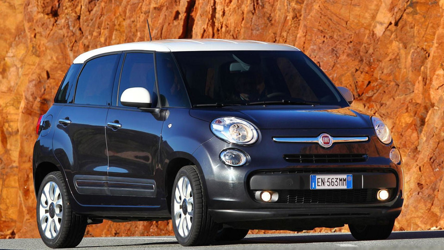 Fiat 500L production halted due to weak demand
