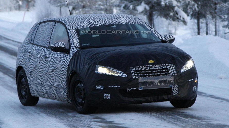Next-gen Peugeot 308 spied in northern Europe