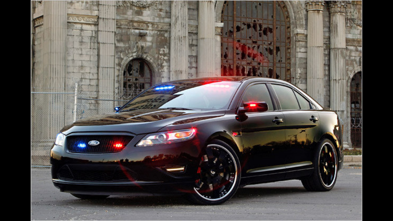 Ford Police Interceptor Stealth Concept