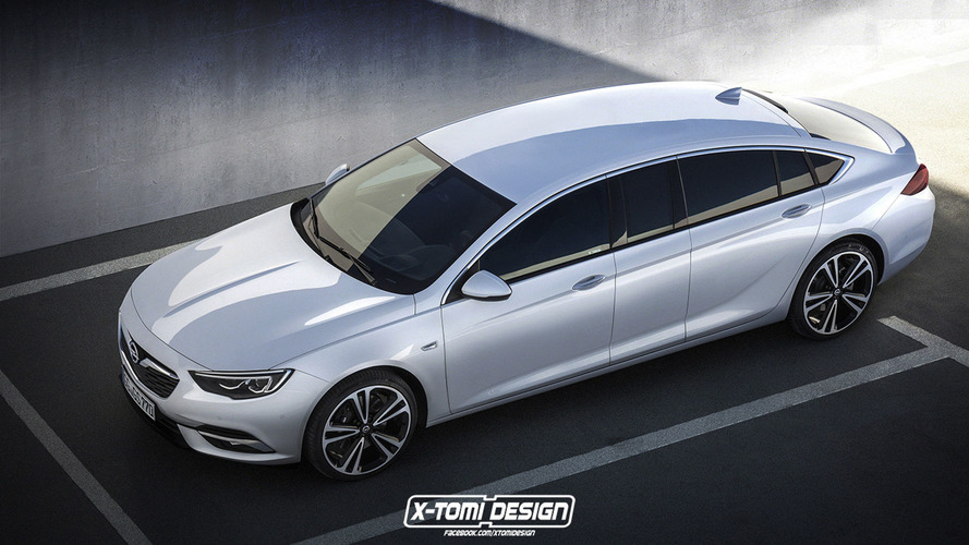Opel Insignia Grand Limousine isn't all that outlandish
