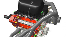Honda Performance Development turbocharged V6 engine for the FIA World Endurance Championship 08.8.2013