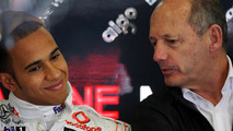 Lewis Hamilton with Ron Dennis 27.03.2009 Australian Grand Prix