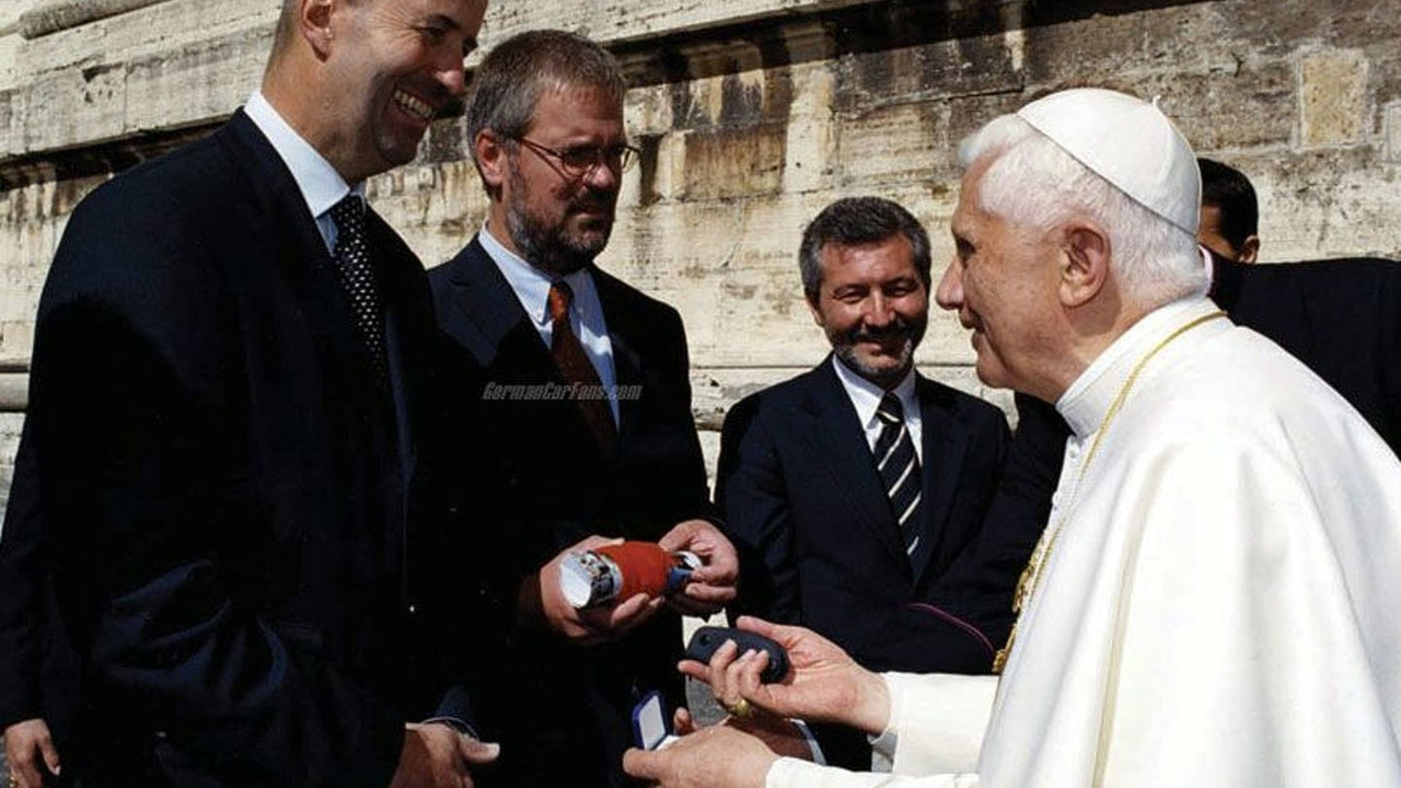 Pope Benedict XVI Takes Delivery of BMW X5