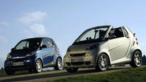 Smart fortwo Brabus and Brabus Xclusive