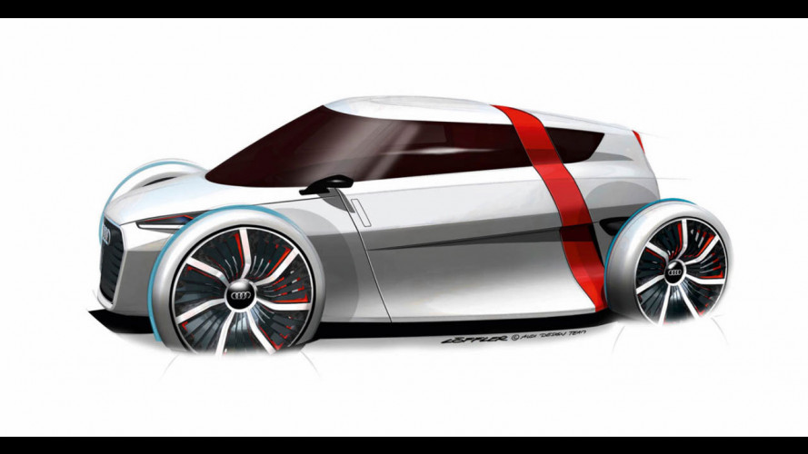 Audi Urban Concept: video teaser