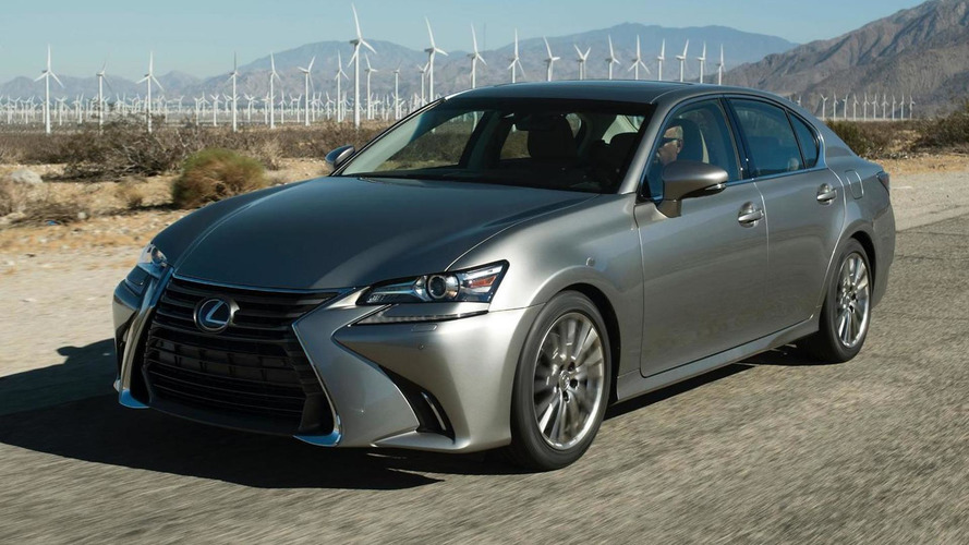 2016 Lexus GS facelift arrives at Pebble Beach with new 200t rear-wheel drive version [video]