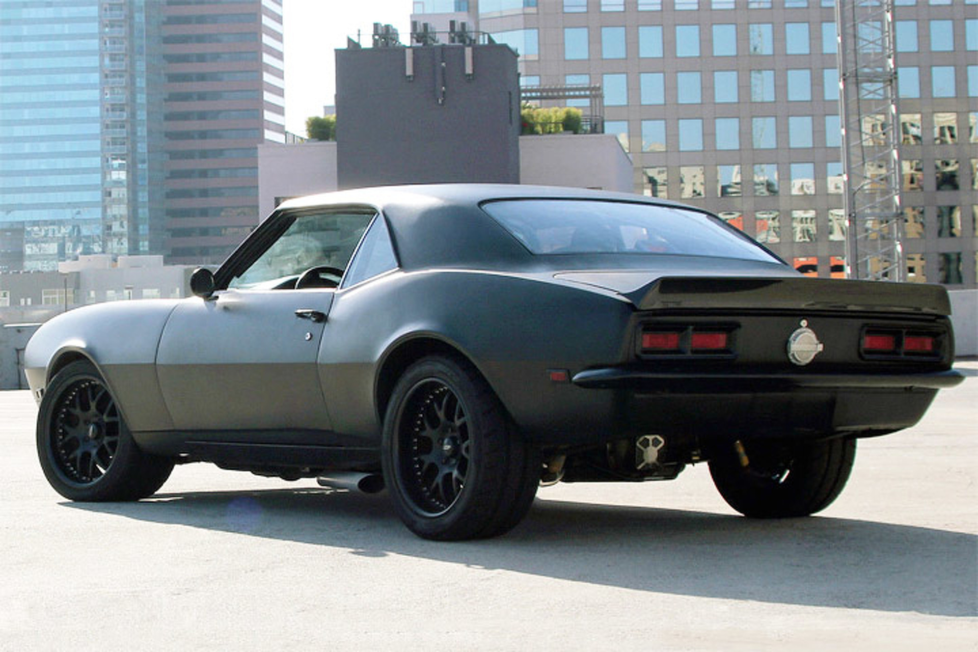 This Sinister '68 Camaro is a Lesson in Intimidation Factor