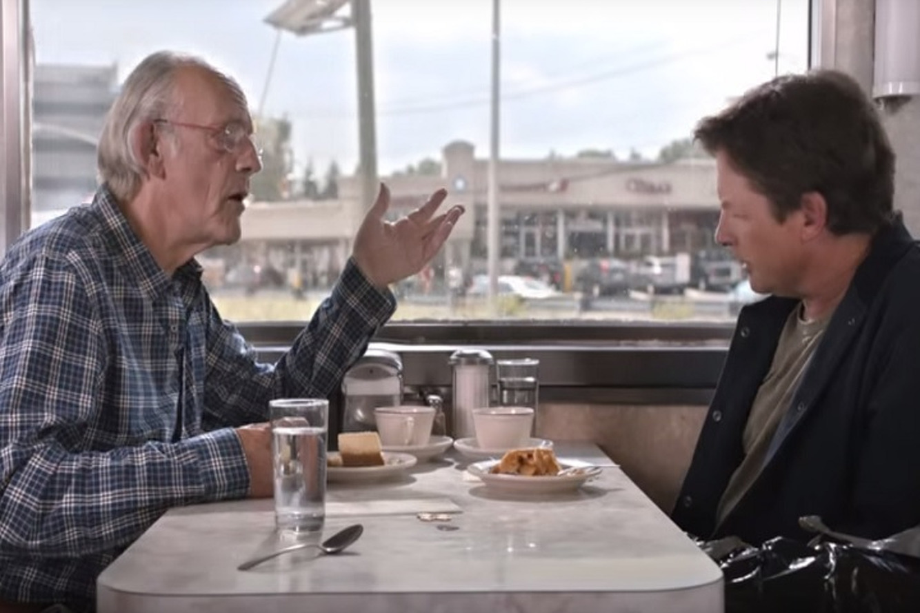 Watch Doc Brown and Marty McFly Go