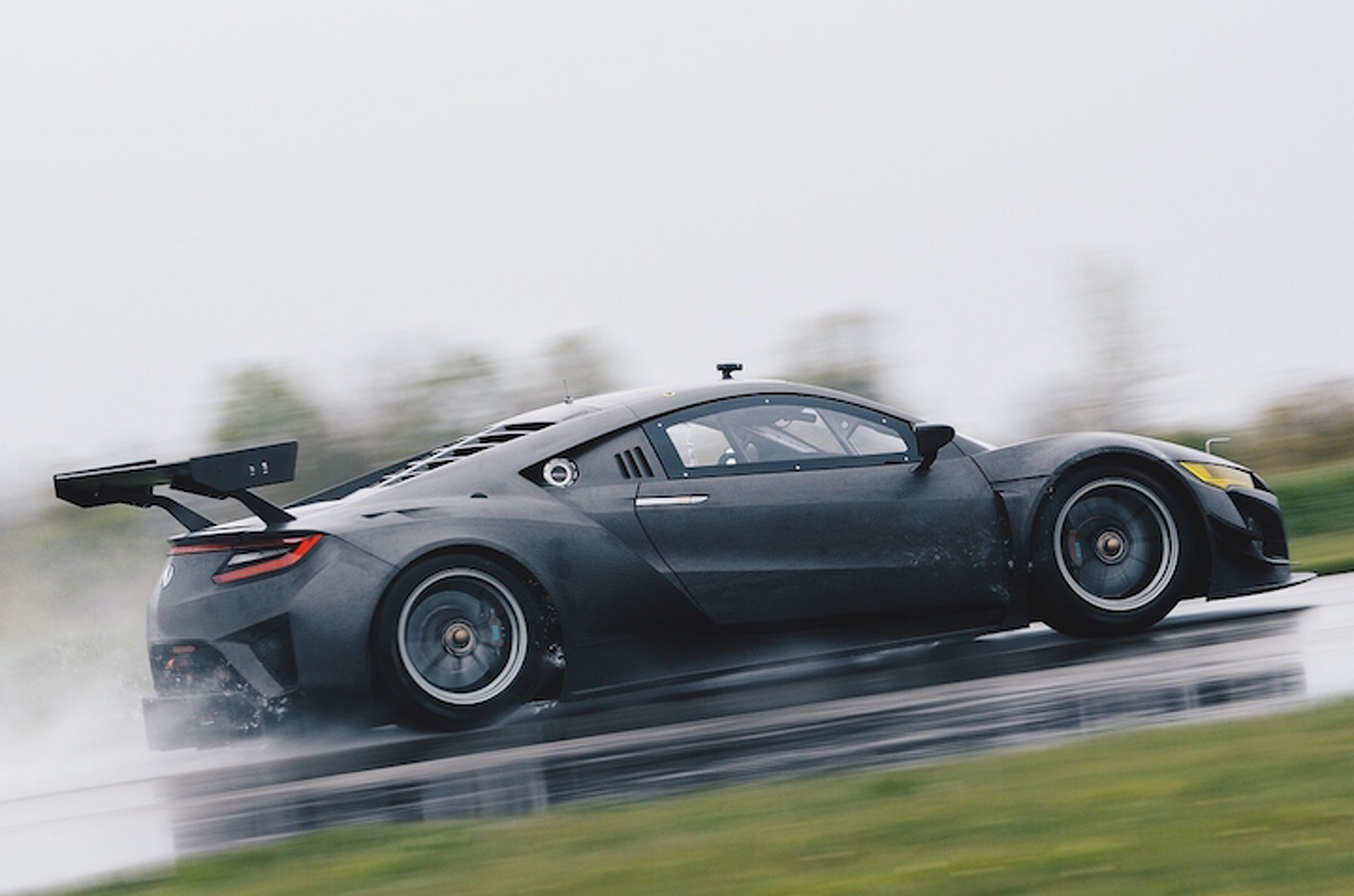 Acura Bares It All With the New NSX GT3 Race Car