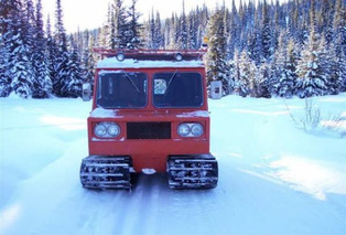 Up and Over: the Wildest Snow-Going Vehicles, Past and Present [w/video]