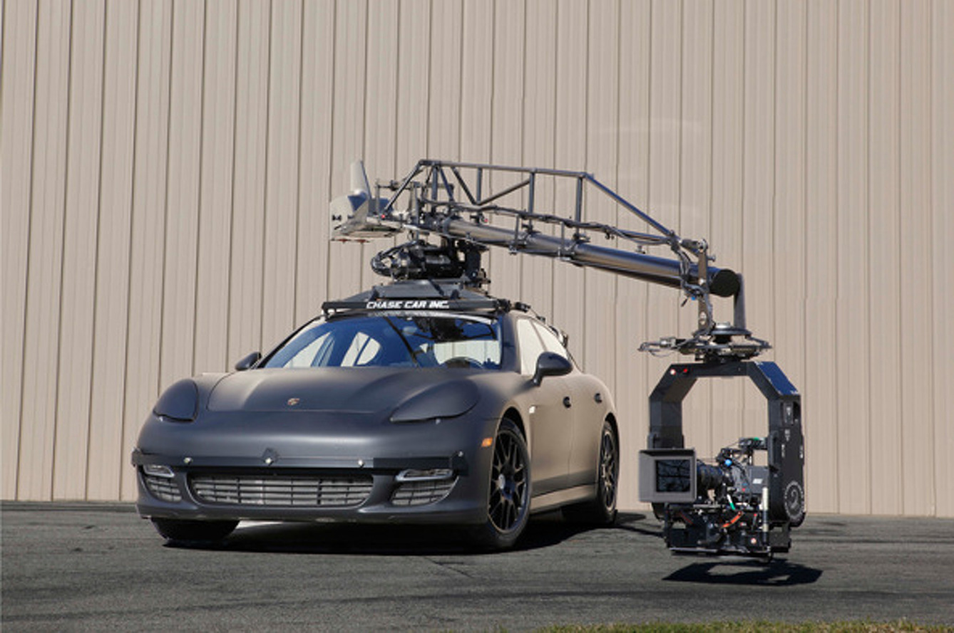 This Porsche Panamera Camera Car is a Different Kind of Custom Ride