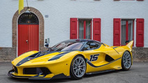Benjamin and Christine Sloss with Ferrari FXX K