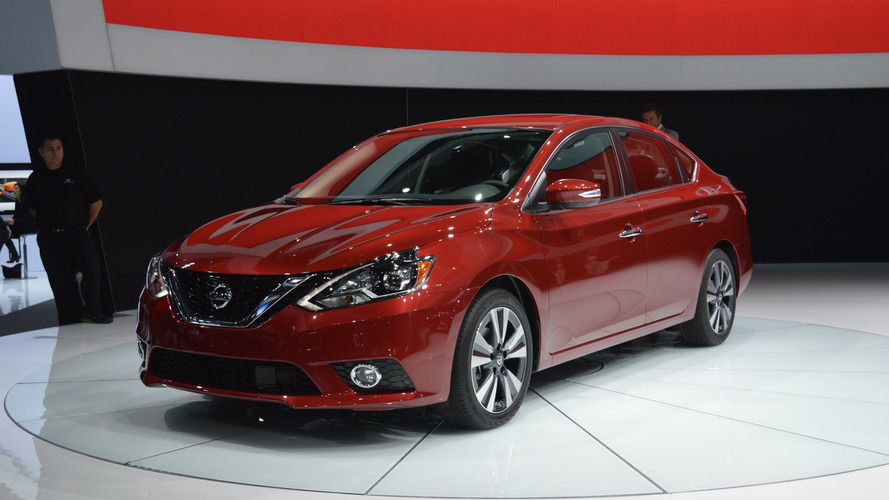 2016 Nissan Sentra facelift bows in LA