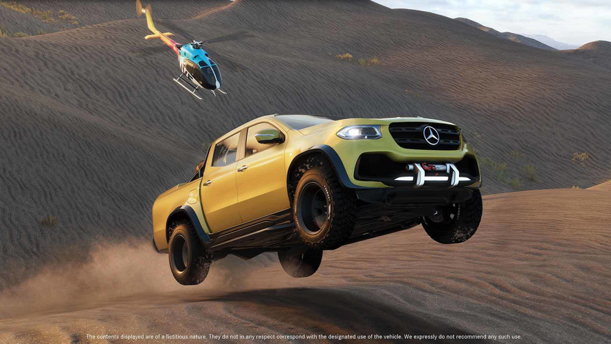 Go Off-Road With The Mercedes X-Class In The Crew 2