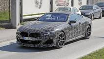 2019 BMW 8 Series Coupe new spy photos