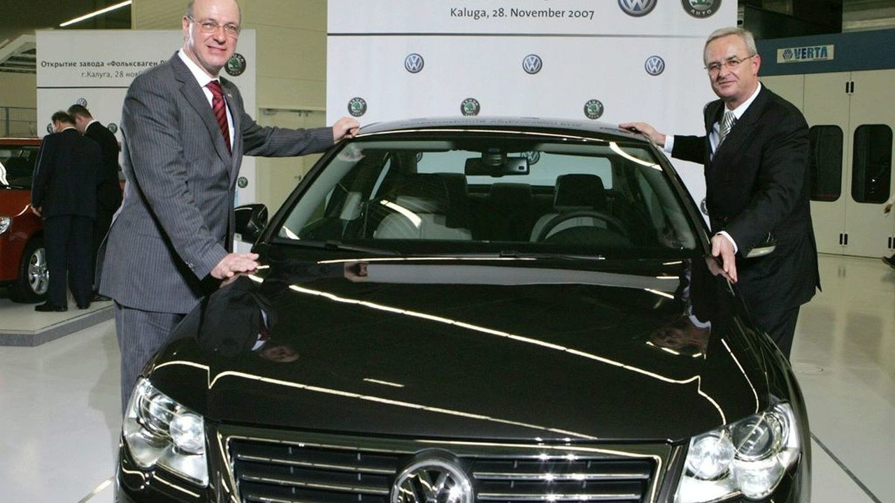 Inauguration of the VW's Kaluga plant, 28.11.2007