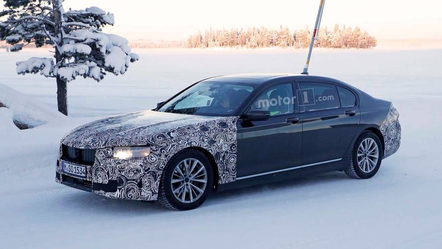 BMW 7 Series Spy Photo