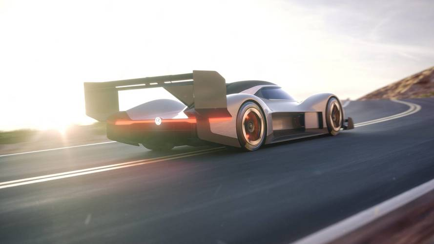 VW Drops Revealing Images Of I.D. R Pikes Peak Electric Race Car